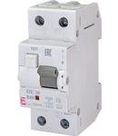 KZS-2M Intrerupatoare de curent rezidual cu protecție la supracurent, 2 module, tip A și AC KZS-2M A B40/0.1