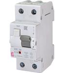 KZS-2M Intrerupatoare de curent rezidual cu protecție la supracurent, 2 module, tip A și AC KZS-2M A C10/0.1