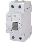 KZS-2M Intrerupatoare de curent rezidual cu protecție la supracurent, 2 module, tip A și AC KZS-2M A C20/0.1