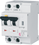 KZS 3M2p EAFDD Residual current circuit breaker with overcurent protection 3 modules A type KZS-EAFDD A C16/0.03