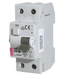 KZS-2M Intrerupatoare de curent rezidual cu protecție la supracurent, 2 module, tip A și AC KZS-2M A C40/0.5