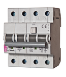 KZS-4M 3p+N Intrerupatoare de curent rezidual cu protecție la supracurent, 4 module, tip A și AC KZS-4M 3p+N A B20/0.1