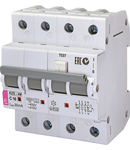 KZS-4M 3p+N Intrerupatoare de curent rezidual cu protecție la supracurent, 4 module, tip A și AC KZS-4M 3p+N A C16/0.03