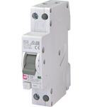 KZS-1M Intrerupatoare de curent rezidual cu protecție la supracurent, 1 module, A and AC type KZS-1M 1p+N AC B25/0.01 6kA
