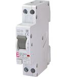 KZS-1M Intrerupatoare de curent rezidual cu protecție la supracurent, 1 module, A and AC type KZS-1M-SUP 1p+N A B16/0.03 6kA