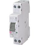 KZS-1M Intrerupatoare de curent rezidual cu protecție la supracurent, 1 module, A and AC type KZS-1M-SUP 1p+N A B16/0.1