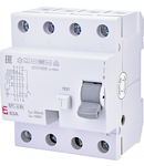 EFI-4 B+ Curent rezidual DC, AC pana la 20kHz, tip B+ EFI-4 B+ 63/0.03