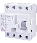 EFI-4 B Curent rezidual DC, AC pana la 1kHz, tip B EFI-4 B G/KV 63/0.03