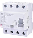 EFI-4 B+ Curent rezidual DC, AC pana la 20kHz, tip B+ EFI-4 B+ 40/0.1