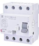 EFI-4 B+ Curent rezidual DC, AC pana la 20kHz, tip B+ EFI-4 B+ 63/0.3