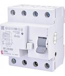 EFI-4 B Curent rezidual DC, AC pana la 1kHz, tip B EFI-4 B G/KV 25/0.3