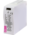 Accesorii descarcatoare MOD.ETITEC B T12 275/12,5