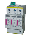 ETITEC S C Descarcatoare Tip2 modular, serie noua ETITEC S C 440/20 3+1 RC