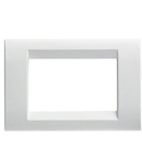 Placa ornament Virna - tehnopolimer gloss finish - 6 module- CLOUD WHITE - SYSTEM