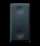 Intrerupator cu revenire 1P 250V ac - NO 10A - NEUTRAL - 1 MODULE - SYSTEM BLACK