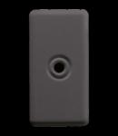 Iesire de cablu 1 modul- DIAMETER 4 AND 8 mm - 1 MODULE - SYSTEM BLACK