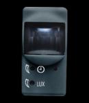 Senzor de miscare - 230V ac 50/60Hz - 1NO 3A(AC1) 250V - 1 MODULE - SYSTEM BLACK