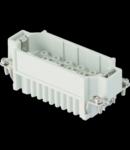 Contector industrial Tata - 77X27 - 40P + E 10A 250V / 4kV / 3 - CRIMP CONNECTION - GRI