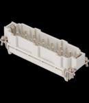 Conector Tata - 104X27 - 10P + 2P (AUX) + E 16A 830V / 8kV / 3 - SPRING TERMINAL - GRI