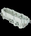 Conector Tata - 104X27 - 4P 80A 500V / 6kV / 3 + 8P 16A 500V / 6kV / 3 + E - ȘURUB CONNECTION - GRI