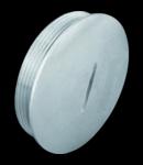 CAP DE ÎNCHIDERE - ÎN NICKEL alamă placată - PG21 - IP65
