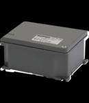 Cutie de joncțiuni aluminiu turnat sub presiune - Vopsite RAL 7037 GRI - 128X103X57
