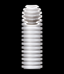 Tub flexibil cu rezistenta Medie- Autostingere - diametru16mm - fara sonda tragatoare - GRI RAL7035