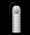 Tub flexibil cu rezistenta Medie- Autostingere - diametru25MM - cu sonda tragatoare - GRI RAL7035