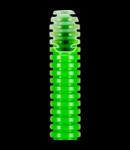 Tub flexibil cu rezistenta Medie FK15 - diametru40MM - fara sonda tragatoare - VERDE