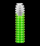 Tub flexibil cu rezistenta Medie Light FKCO -: 40mm - VERDE