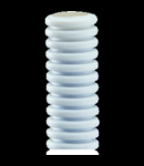 Tub flexibil cu rezistenta Medie Light FKHF autoreconstituire - DIAMETRU 25MM - cu sonda tragatoare - GREY