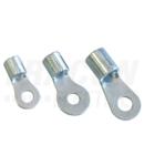 Papuc inelar neizolat,cupru electrolitic stanat SZ1.5-6 1,5mm2, M6, (d1=2,3mm, d2=6,4mm)
