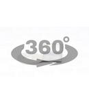 Papuc inelar neizolat,cupru electrolitic stanat SZ150-24 150mm2, M24, (d1=19,5mm, d2=25mm)