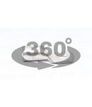 Papuc inelar neizolat,din teava de cupru electrolitic stanat CL300-16 300mm2, M16, (d1=23,5mm, d2=17mm)