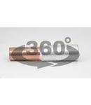 Mufa neizolata cupru-aluminiu (Cu-Al) RT150/185 150/185mm2, (d1=16,6mm, d2=18mm)