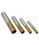 Mufa neizolata cupru-aluminiu (Cu-Al) RT185/240 185/240mm2, (d1=18,5mm, d2=21mm)