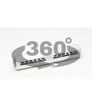 Mufa neizolata din aluminiu AT150 150mm2, (d1=16,4mm, L=116mm)
