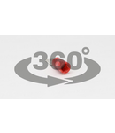 Fisa glisanta izolata, alama, rosu PCS5 4,8×0,8mm, 1,5mm2