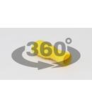 Mufa glisanta complet izolata , alama stanata, galben STCSH6 6mm2, 6,3×0,8 mm