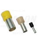 Tub de capat izolat (PA6.6),Cu electrolitic stanat, turcoaz E136 0,34mm2, L=10,4mm
