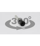 Tub de capat izolat (PA6.6),Cu electrolitic stanat, rosu E09 1mm2, L=14,6mm