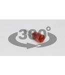 Tub de capat izolat (PA6.6),Cu electrolitic stanat, rosu E113 1,5mm2, L=14,6mm