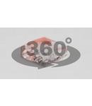 Clema de legaturi fara surub, transparent/portocaliu RVO2,5-3 3×0,5-2,5mm2, 450VAC, max. 16A