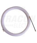 Sonda din mat. plastic pt. tras conductoare, cu cap metalic TBSZ-10 L=10m, d=3mm