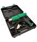 Pistol de aer cald in geantadin mat. plastic+5 accesorii HLF-02 230V, 50Hz, 1000/2000W, 350/600oC