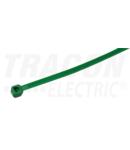 Fasete normale, culoare verde 190Z 203×4,6mm, D=2-52mm, PA6.6