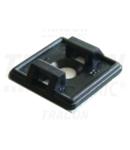 Talpa autoadeziva pt.fasete,2 directii de introducere,neagra TALP191-2 18,7×18,7mm, d=4,4mm,PA6.6
