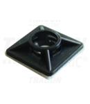 Talpa autoadeziva pt.fasete,4 directii de introducere,neagra TALP191 20×20mm, d=2,9mm, PA6.6