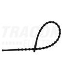 Fasete tip perla reutilizabile, negre 180F-GY 180×2mm, D=8-45mm, PE
