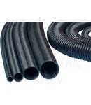 Spirala pentru strangerea conductoarelor, negru SPI25 dmax=25mm, PP, 1m